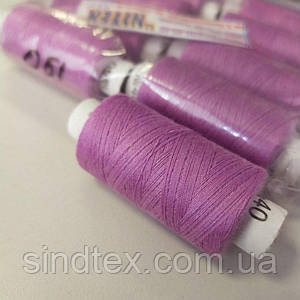 Цвет:051  Нитки в катушках, швейные 100% полиэстер 40/2 (боб 200м) (ВЕЛЛ-416)