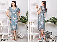 Платье на запах-35412