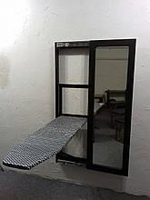Гладильная доска-купе ,фасад МДФ-зеркало