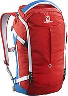 Рюкзак горнолыжный Salomon BAG QUEST VERSE 25 BRIGHT RED/Union blue (MD)