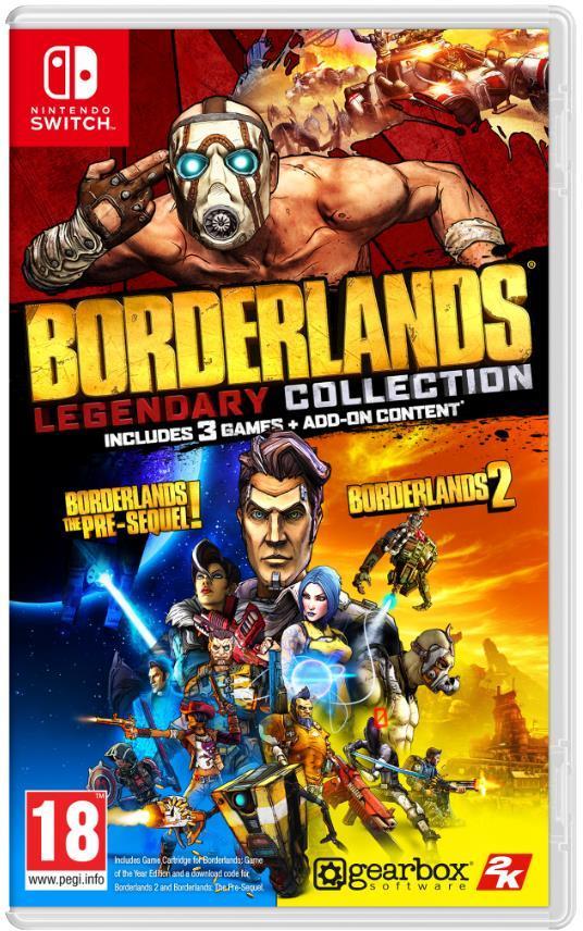 Картридж с игрой Borderlands Legendary Collection, для Nintendo Switch