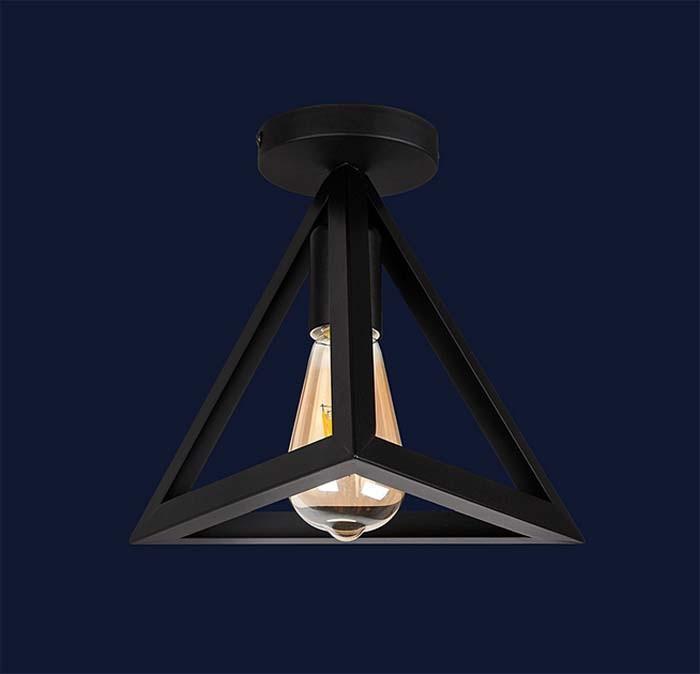 Светильник подвесной LOFT L56XPR220F-1 BK