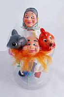 Домашний кукольный театр  Курочка Ряба 4 персонажа