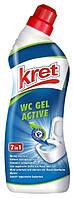 """Гель для чистки унитаза """"Kret Active"""" 750 мл"""