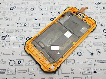 Уценка. Дисплей Blackview BV6000s модуль желтый Сервисный оригинал с разборки
