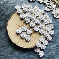 Цветы Маргаритки 15мм Белые