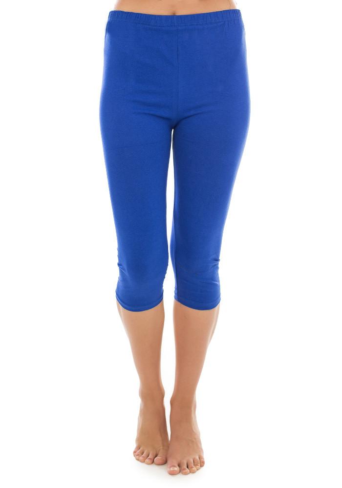 Бриджи женские хлопок размер 5XL (54-56) синие