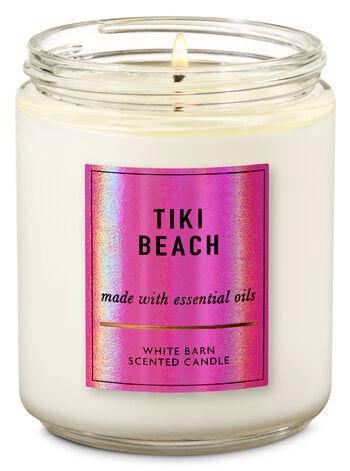 Свеча ароматизированная Bath and Body Works Tiki Beach Scented Candle 198 г, фото 2