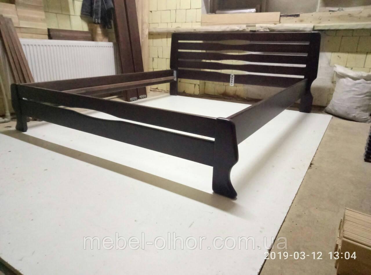 Кровать Лок двуспальная венге