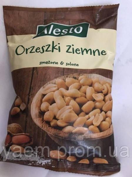 Соленые орешки Alesto Orzeski ziemne 500гр. (Польша)
