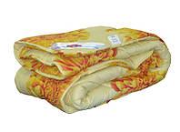 Одеяло закрытое овечья шерсть (Поликоттон) Двуспальное Евро T-51066, фото 1