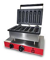 Аппарат Корн-дог для приготовления вафли на палочке GoodFood CM6A 3+3, КОД: 1389049