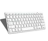 Беспроводная Bluetooth клавиатура компьютерная android iOS keyboard BK3001White, фото 6
