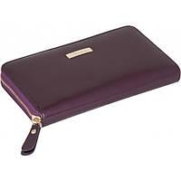 Кошелек женский кожаный Langres Glaze LS.810300-30 19.3x10.3x2.1см, сливовый