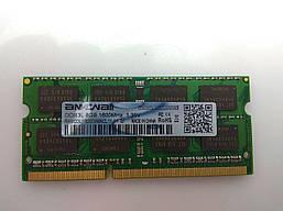Оперативная память для ноутбука TRY Sodimm DDR3L 8GB 1600mhz PC3L-12800 (На чипах Samsung) нов