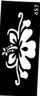 Трафареты для био-тату (№ 457)