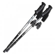 Трекинговые палки Tramp Trekking 140 TRR-003.00 для скандинавской ходьбы телескопические Black (002247)