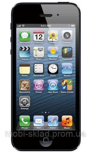 "Китайский айфон 5 (iPhone 5 H5). WiFi, 2 sim, ТВ, Java, дисплей 4""."
