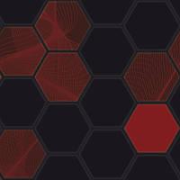 Панель ПВХ 973*492мм Низький шестигранник (28) (кратно 5 шт)