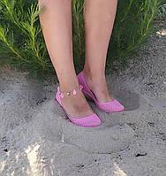 Женские силиконовые балетки, аквашузы, коралки, розовый,