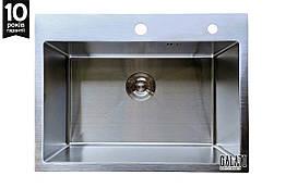 Кухонна мийка Arta U-550 600*450*230 сталь 1.2 мм ТМ Galati