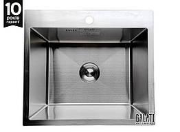 Кухонна мийка Galati Arta U-490 540*480*230 мм, сталь товщина: 1.2 мм
