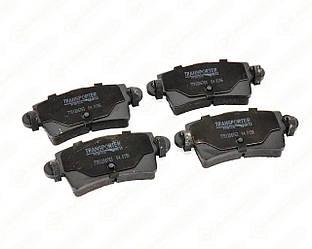 Дискові гальмівні колодки задні на Renault Master II 1998-> 2010 - AutoTechteile - 04.0156