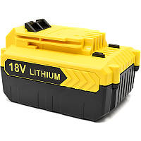 Аккумулятор PowerPlant для шуруповертов и электроинструментов BLACK&DECKER 18V 4Ah Li-ion