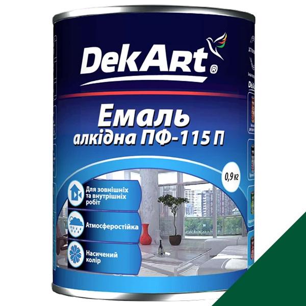 Фарба DekArt ПФ-115П алкідна зелена 0,9кг
