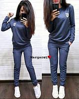 Женский спортивный однотонный костюм  БЛ-2-0520