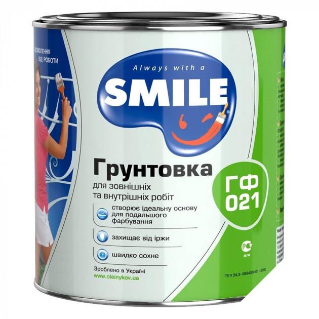 Грунт Smile ГФ-021 білий 0,9кг
