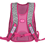 Школьный ортопедический рюкзак для девочки 1Вересня S-43 Keit Kimberlin 39х29х16см Розовый (558225)+Подарок 3 месяца пользования приложением, фото 2