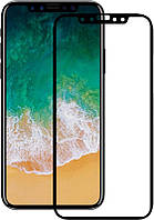 Защитное стекло TOTO 5D Full Cover Tempered Glass для iPhone Xs Max Black 76955, КОД: 1172486