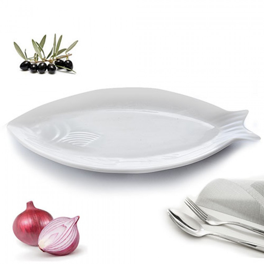 Блюдо Рыбка 46 х 21,5 см Stenson MC2586