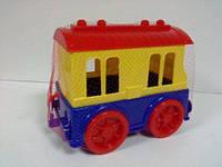 Пластиковый вагон пассажирский Юника 0668