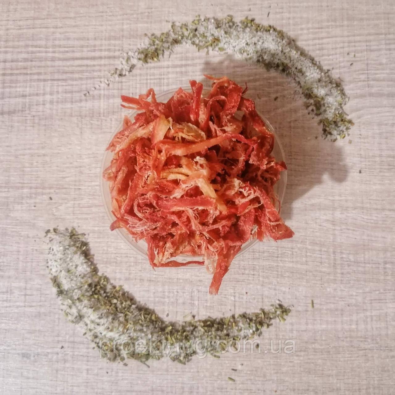 Стружка кальмара со вкусом краба 1 кг