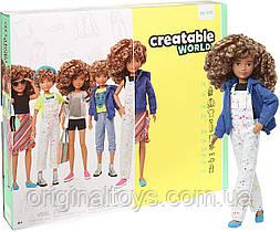 Кукла Creatable World Создаваемый мир, светлые кудрявые волосы