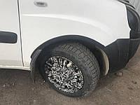 Расширители колесных арок Fiat Doblo (2001-2015) / 4 элем, черные