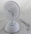 """Настольный вентилятор с прищепкой 6"""" (15Вт) DOMOTEC MS-1623, фото 2"""