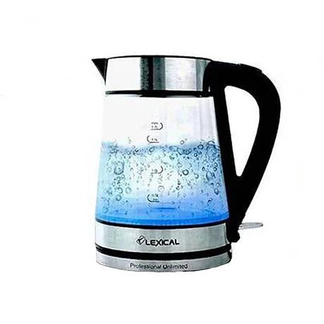 Стеклянный Электрический чайник Liberton LEK-1403 1,8л + ПОДАРОК: Настенный Фонарик с регулятором BL-8772A, фото 2