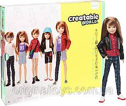 Кукла Creatable World Создаваемый мир, прямые волосы