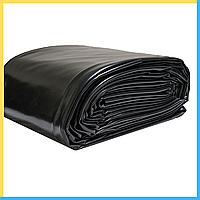 Чёрная плёнка на метраж 150 микрон (ширина 3 метра), фото 1