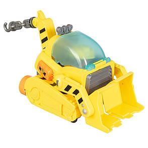 Игровой набор Paw Patrol: Щенячий Патруль. Герой-спасатель Крепыш на транспорте, фото 2