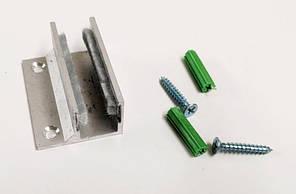 Направляючий профіль нижній зі щітками під скло 10-12 мм art. ODY12BOT