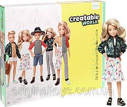 Кукла Creatable World Создаваемый мир, светлые волнистые волосы