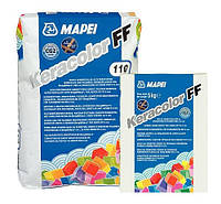Затирка для швів цементна 2 кг, KERACOLOR FF103(білий місяць) Mapei, фото 1