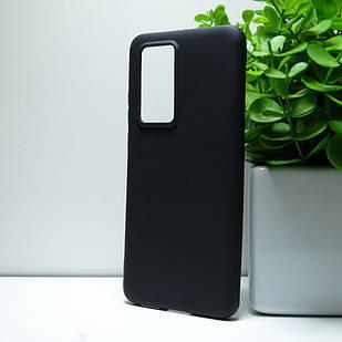 """Силіконовий чохол Huawei P40 Pro """"VIP"""" Чорний (black)"""