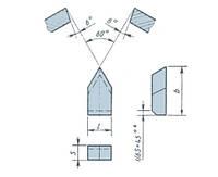 Пластина твердосплавная напайная 11170 Т15К6-ПЛАСТИНЫ КАЧЕСТВЕННЫЕ, МАРКИРОВАНЫ, НОВЫЕ