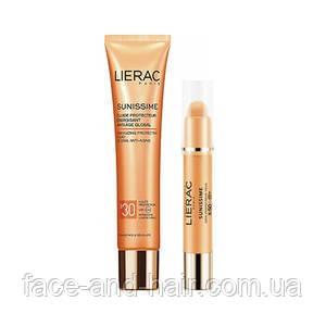 Набор Lierac Sunissime (Флюид защитный SPF30 40 мл + Средство для контура глаз SPF50 3 гр)