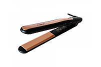 Праску-Випрямляч-Щипці для волосся Gemei GM 2955 з турмаліновим покриттям, фото 3